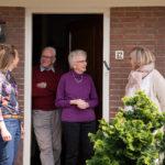 Casemanagers dementie hebben nauw contact met cliënten.